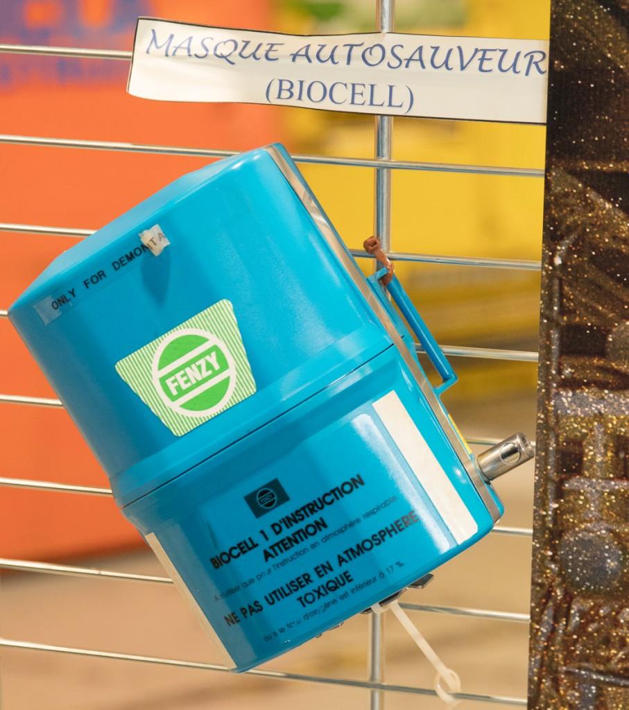 Sicherheit: Sauerstoffselbstretter