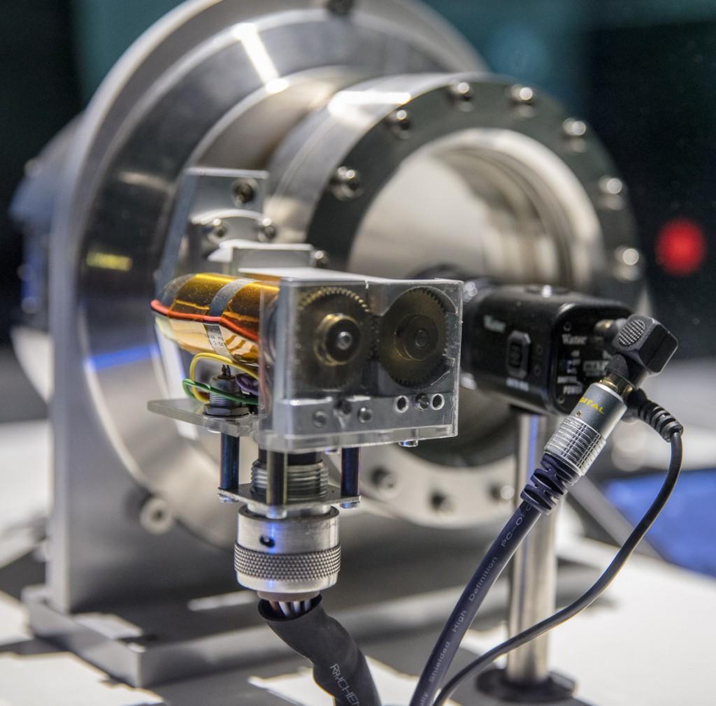 ein wichtiges Gerät um die Qualität des Strahles zu messen