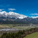 Volderwald mit Blick ins Inntal